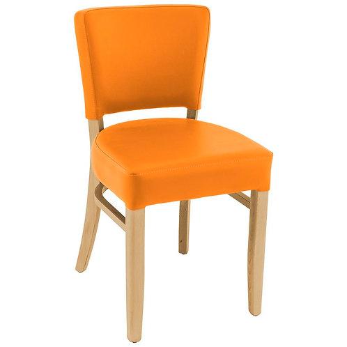 Chaise Floriane Slim Orange