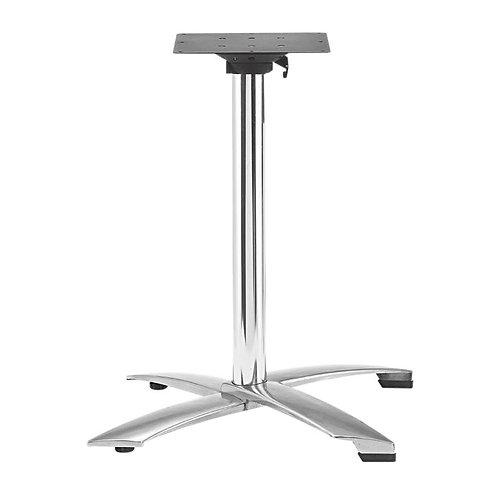 Pied de table Ugine simple rabattable
