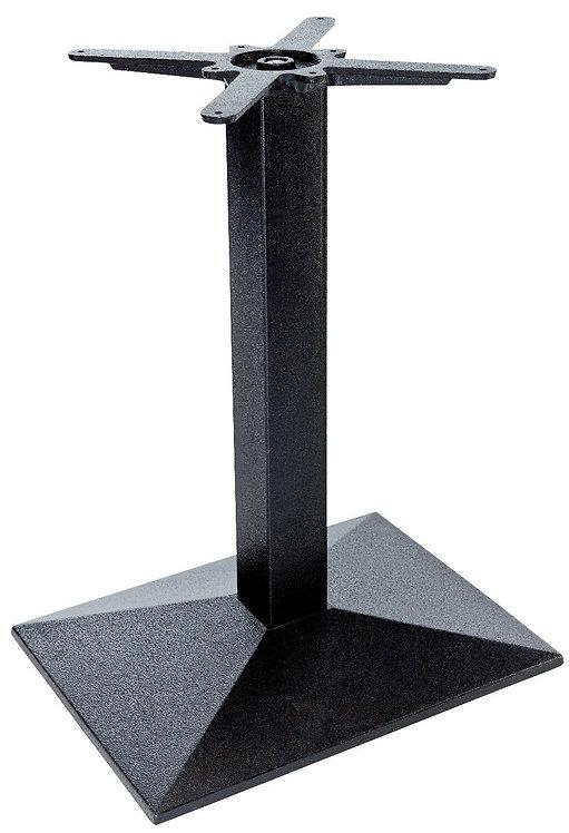 Pied Rome 13 fonte d'acier noir base 55 x 40cm