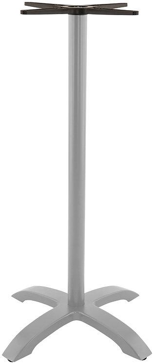 Pied de table Berlin 4 Bar Aluminium