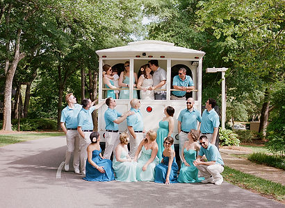 Carolina Limousine & Coach Trolley Weddings Rental