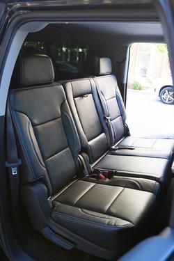 Chevy Suburban Back Seat