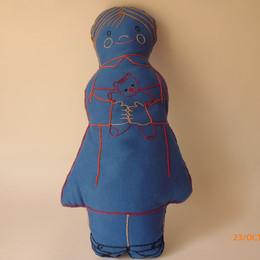 Azul muñeca