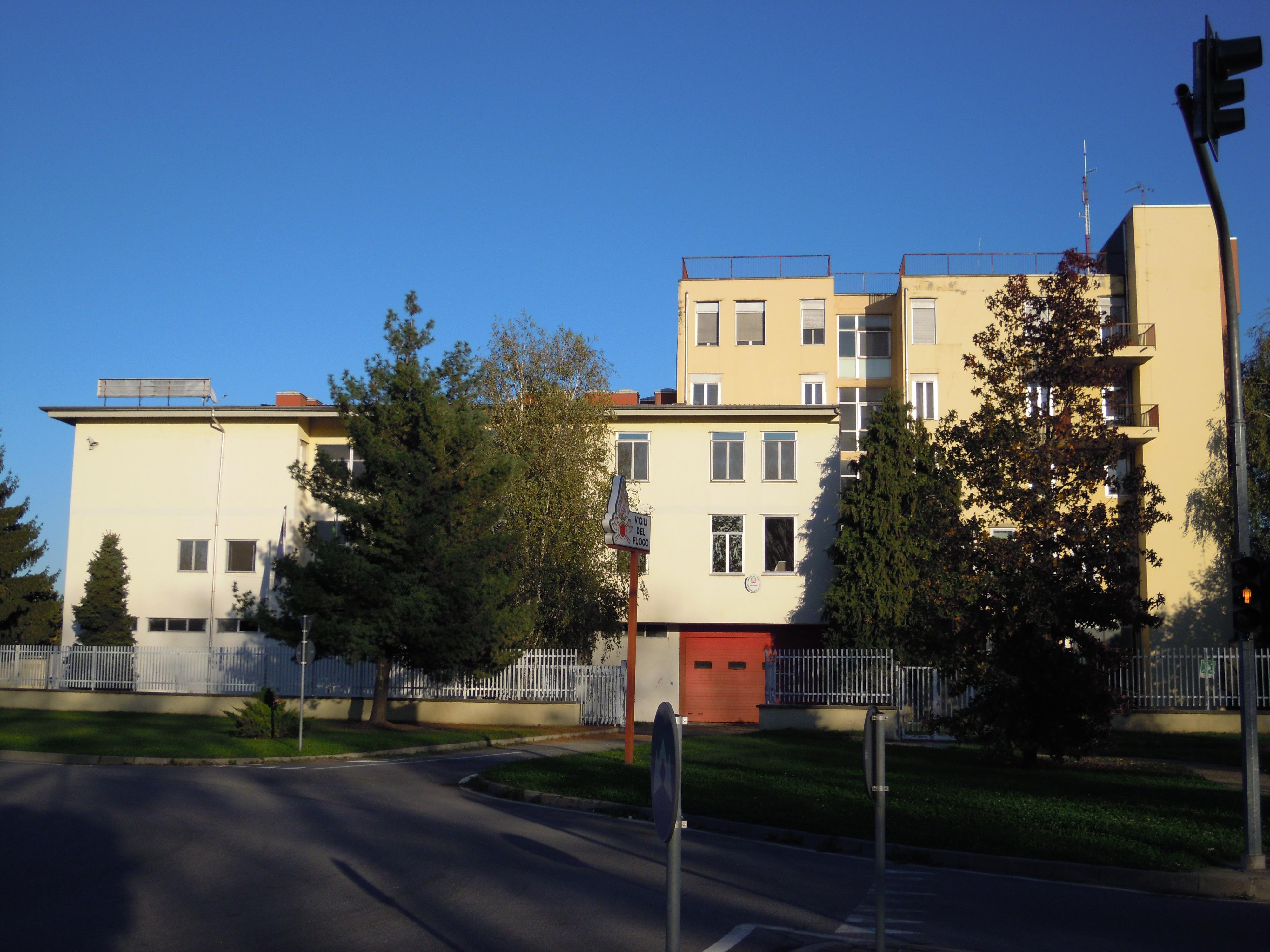 NOVARA - Caserma VVFF