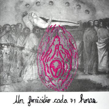 Título: Tránsito de la Virgen. Del proyecto: Actos de enunciación