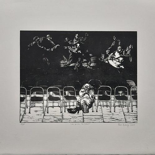 """""""Nos pisan los talones""""  Dispatetes de Goya. Visiones contemporáneas."""