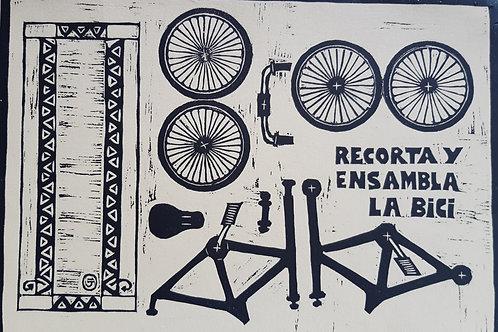 Lámina bicicleta