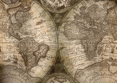 Carte de Vieux Monde