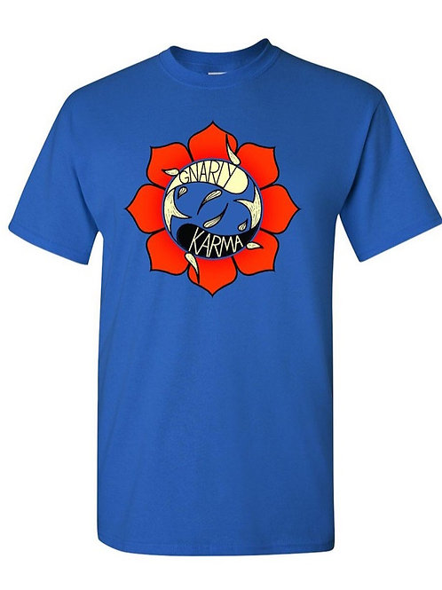 GK Logo T-Shirt Blue