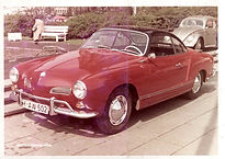 1965 Apr.  VolksWagen Karmann Ghia  カルマンギアー