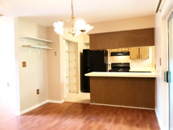 Kitchen with large pantry