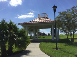 Pavilion by Tennis courts