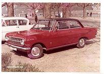 1965 Apr.  Opel  Rekord A   オペル レコルトA
