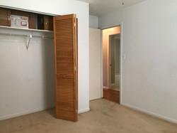 Louvered Bi-fold closet doors