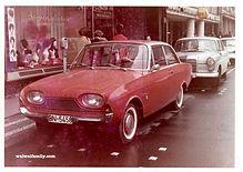 1965 Apr. Ford Taunus 17M  フォード タウヌス17M