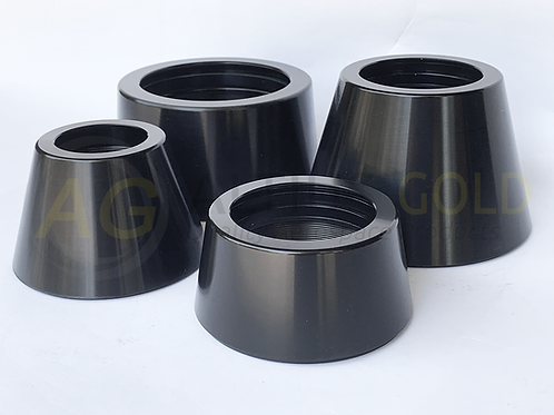 Tailcone Motor Retainers (Black Anodised)