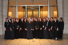 Fox Valley Festival Chorus performs Requiem at Lincoln Center under composer Mark Hayes.