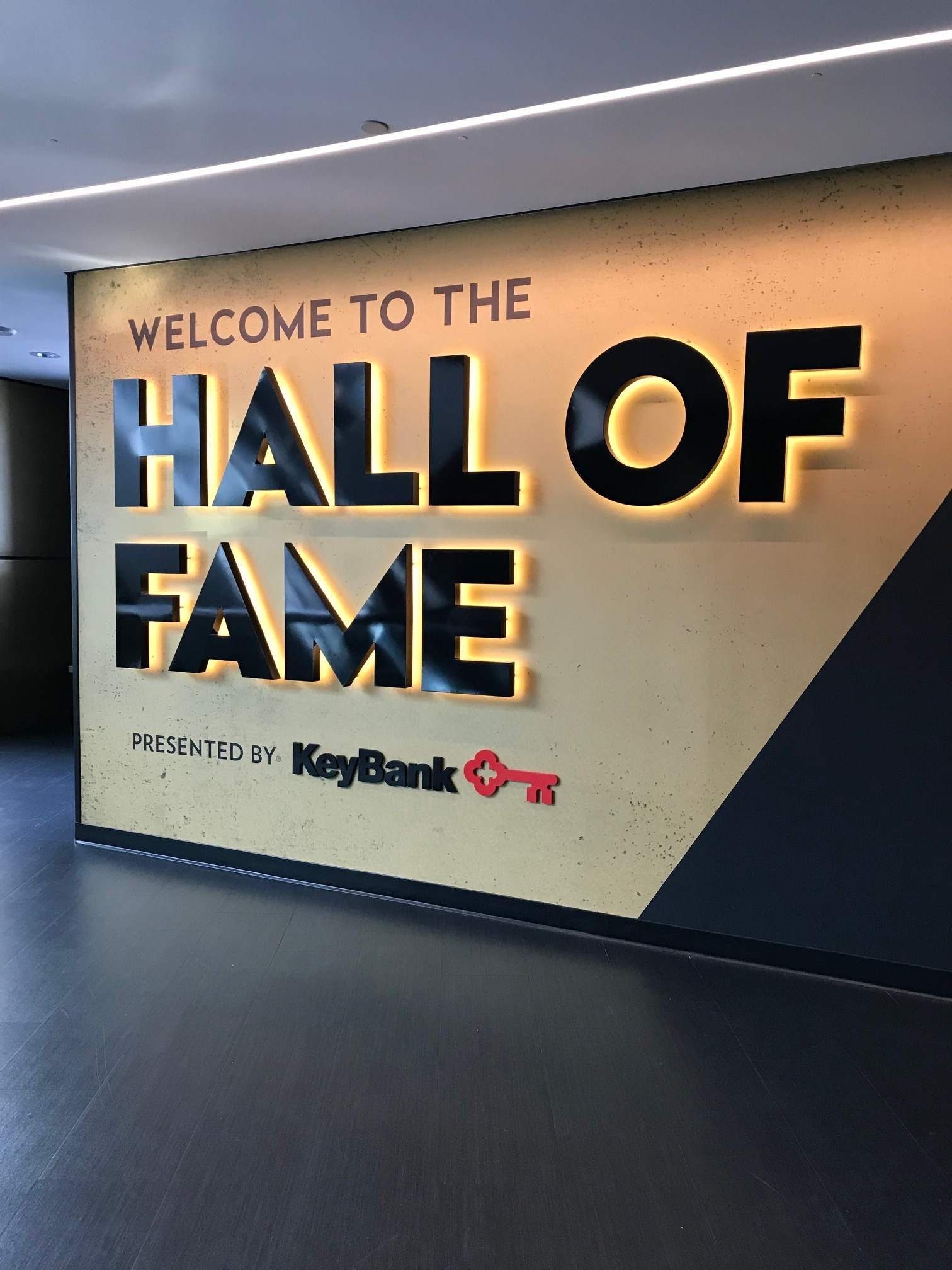 1Hall of Fame sign