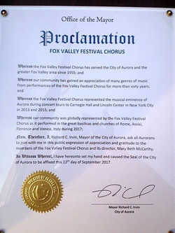 City of Aurora Proclamation