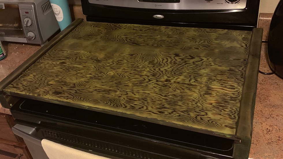 Noodle board / oven cover