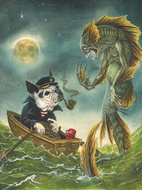 """""""The Fisherman and The Seagruff"""" Joe Vollan"""