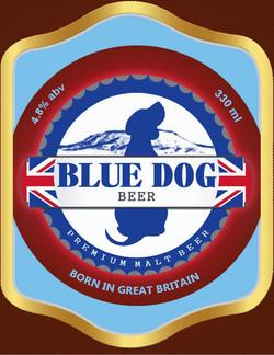 BLUE DOG Beer