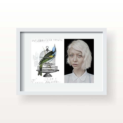 I am the river (Printed & Framed)