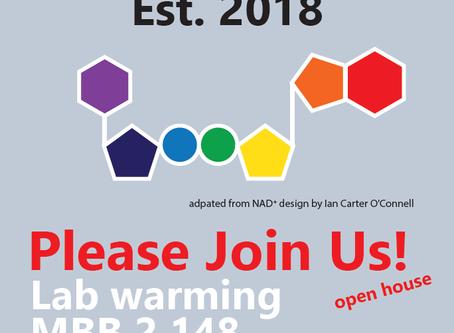 PAR-TAY! (Lab warming style)