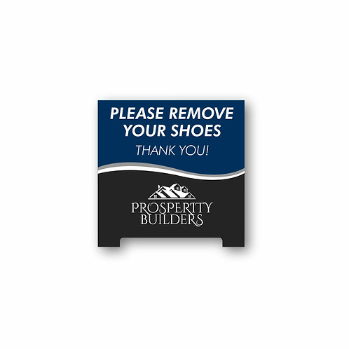 Acrylic Tent Sign
