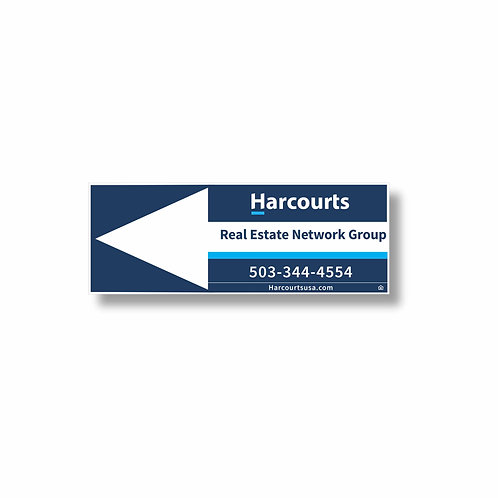 H4 9 x 24 Directional Sign