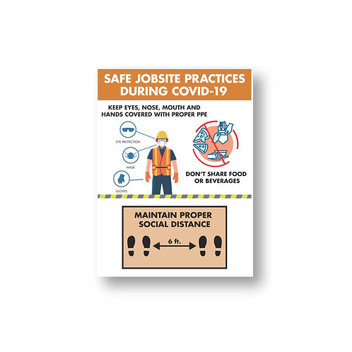 Jobsite Safety Sign 1