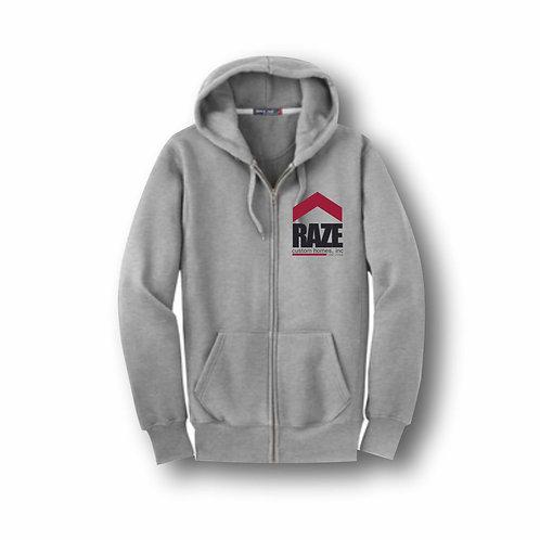 Full Zip Gray Hoodie