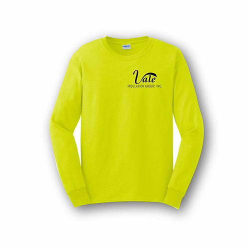Safety Green Long Sleeve T