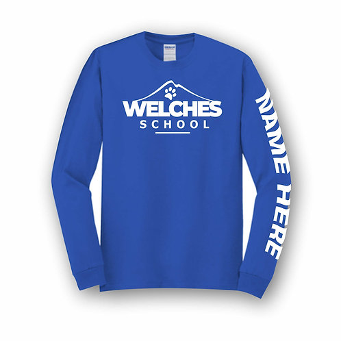 Royal Custom Long Sleeve T