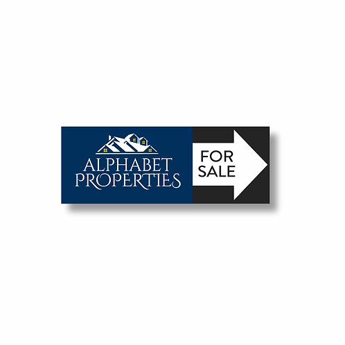 9 x 24 Directional Sign 2