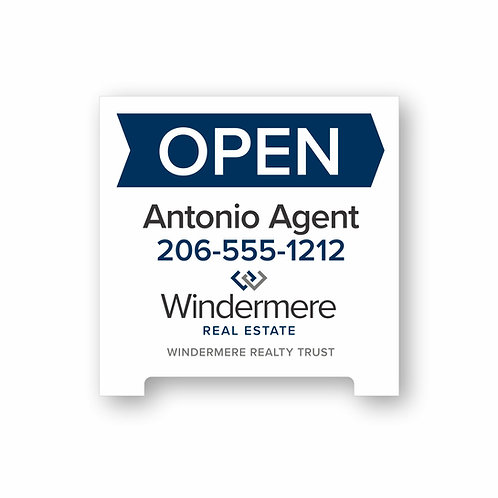 A1 Agent A-Frame Sign