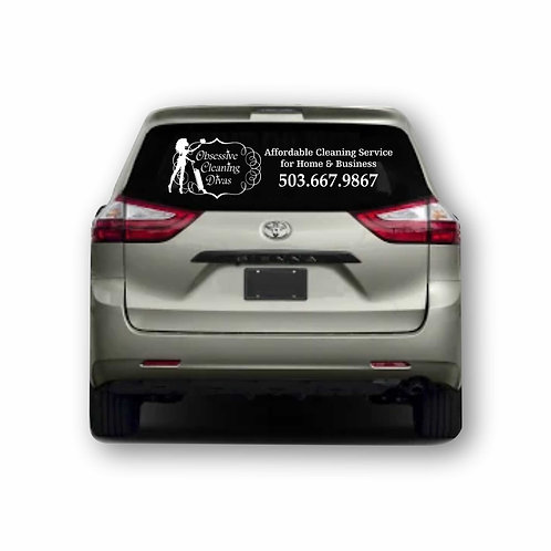Vehicle Rear Window Graphics