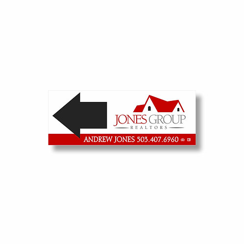 D1 Agent Directional Sign