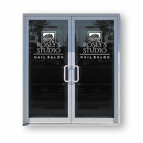 Vinyl Door Graphics