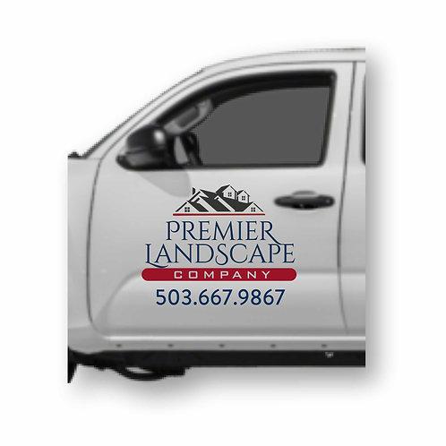 Vehicle Door Graphics