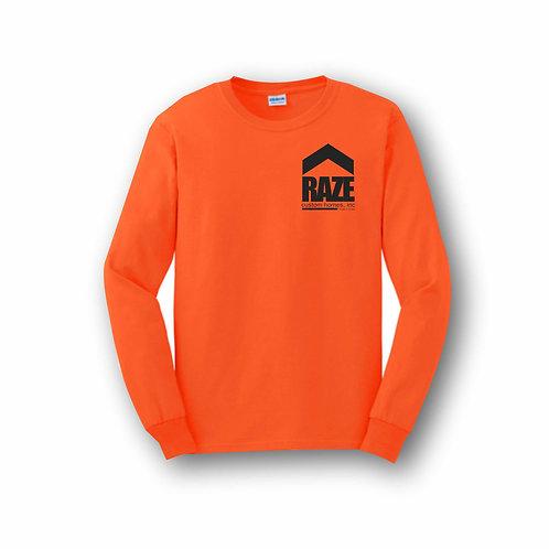 Safety Orange Long Sleeve T