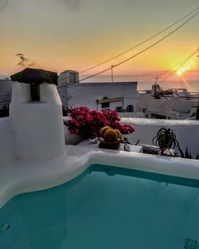 Plunge Pool at Sunrise