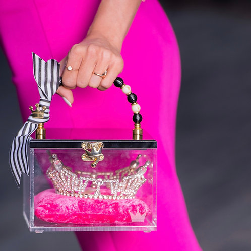 CLASSIC CROWNED CLUTCH