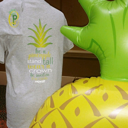 CROWNED PINEAPPLE TEE