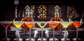 Website for restaurant and bar consultant in France