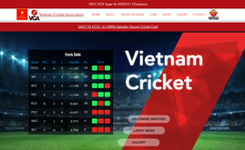 Website & SEO for Vietnam Cricket Association