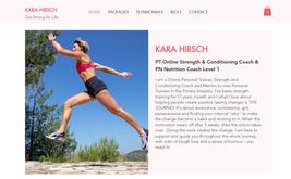 Website & SEO for fitness trainer in Australia