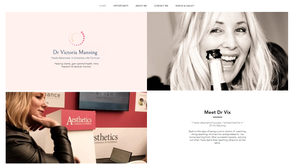 Website for medical aesthetic doctor in USA