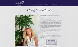 Website for therapist in Hong Kong