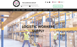 Multilingual website & SEO for construction, security and logistics labor supplier company in Hong Kong